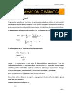Nota Programacion Cuadratica