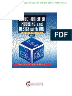 Pdf modeling design object and oriented