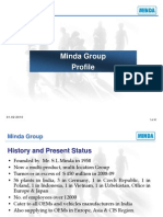 Minda Group Profile