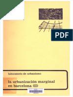 La Urbanizacion Marginal en Barcelona II