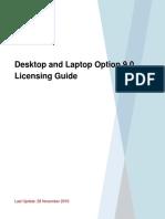 Desktop and Laptop Option Licensing Guide