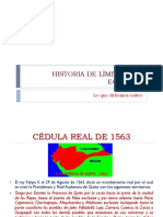 HISTORIA DE LÍMITES DEL ECUADOR