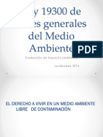 C10-14 Ley de Bases Generales Del Medio Ambiente 19300