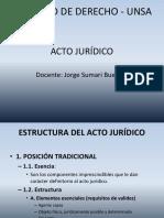 Acto Jurídico II Estructura Del Acto Juridico (1)