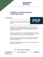 Stream Analyzer 2.0 Tour -- Removal of Nickel