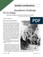 Eir - Alexander Hamilton's Challenge to Us Today
