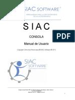 Manual SIAC Consola