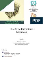 Curso Diseño de Estructruras Metálicas, Parte 1