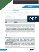 Acta de Constitución PM4R