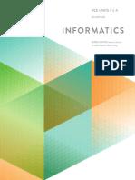 Informatics Textbook - Preliminaries