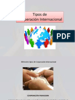 Tipos de Cooperación - copia
