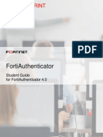 FortiAuthenticator Student Guide-Online