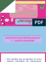 Arquitectura de La Bd