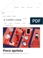 Poco Aprieta _ El Gato y La Caja