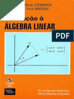Paulo Winterle e Alfredo Steinbruch - Introdução a Algebra Linear AlgeLin