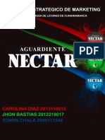 Plan Estrategico de Marketing _Nectar