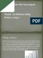 Ppt Kearsipan Ikhsan - Copy