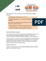 Creación de Un Sitio Web