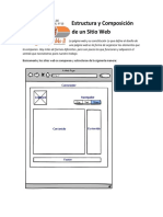 Estructura y Composición de Un Sitio Web