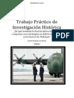 TP de Investigacion de Historia FAA en Malvinas