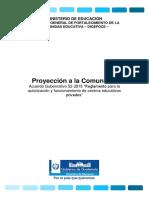 Artículo 14 Proyección a La Comunidad (2)