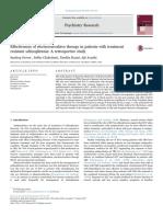 Efectividad de TEC en Esquizofrenia Resistente