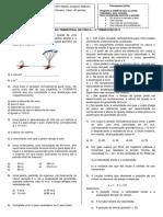 Prova de Fisica - 1ºC