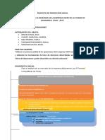 Proyecto de Proyección Social GETAOP - EMPRESA CHEPE