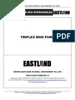 Triplex Drilling Mud Pump Fluid Expendables