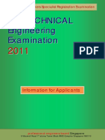 GEE 2011 Exam Brochure