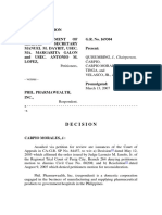 35. Department of Health v. Phil. Pharmawealth Inc., GR 169304, 13 March 2007, Second Division, Carpio Morales [J]