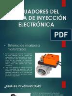 Actuadores Del Sistema de Inyección Electrónica