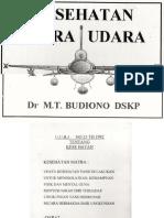 (04Nov) Matra Udara - Kesehatan Matra Udara Dr. M.T. Budiono