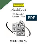 Math Type User Manual