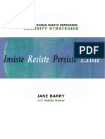 Insiste Resiste Persiste Existe Whrds Security Strategies