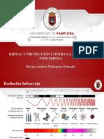 Riesgo y Proteccion Contra La Radiacion Infrarroja