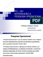 Material de aula - Pesquisa operacional - ITA
