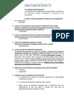 Cuestionario Final Derecho Civil