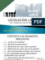 Legislación Laboral Gestion Unicad i