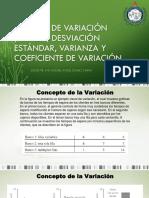 Medidas de Variación