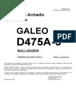 Manual Armado D475A-5 (Esp) Serie 20001 and Up