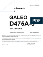 Manual Armado D475A-5 (Esp) Serie 20001 and Up