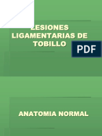 Lesiones Ligamentarias de Tobillo PDF