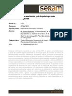 El Tobillo Revisión Anatómica y de La Patología Más Frecuente