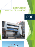 Instituciones Públicas de Huancayo
