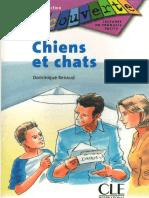Chiens Et Chats Introduction Niveau 0 Livre 1