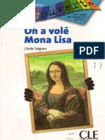 On a Volé Mona Lisa Niveau 3 Livre 3