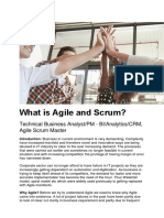 What is Agile and Scrum