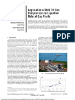 Application of Boil Off Gas Compressors in Liquefied Natural Gas Plants