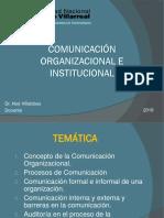 Sesion 02 Comunicacion Organizacional e Institucional